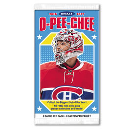 O-Pee-Chee 2016/2017 Hockey Booster Pack - 8 Cards per Pack