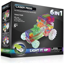 Laser Pegs Zippy Do Tractors Kit