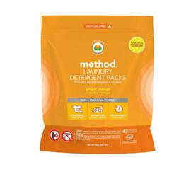 Method Laundry Detergent - Ginger Mango - 42's