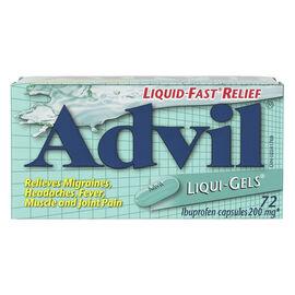 Advil Liqui-Gels - 72's