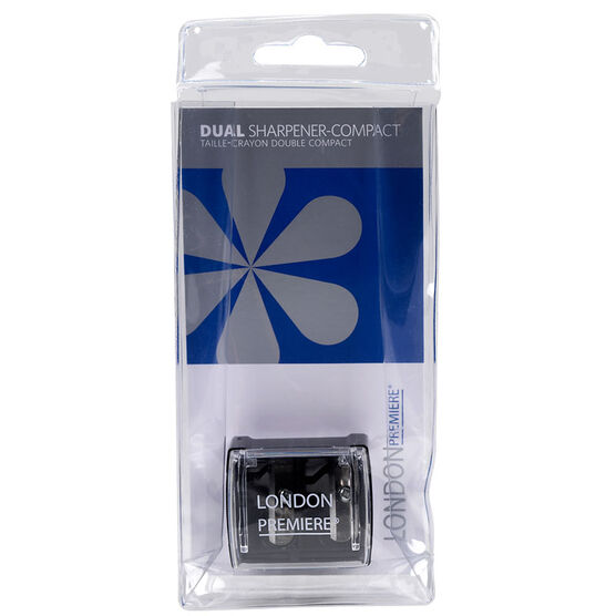 London Premiere Dual Sharpener - Black