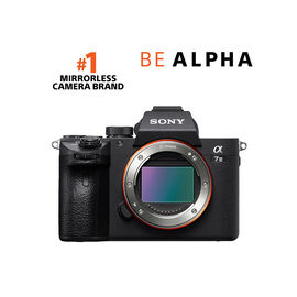 Sony a7 III Body Only - Black - ILCE7M3/B