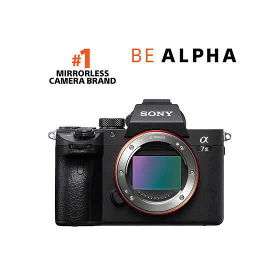 PRE-ORDER: Sony a7 III Body Only - Black - ILCE7M3/B