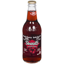 Stewart's Fountain Classics - Black Cherry Soda - 355ml