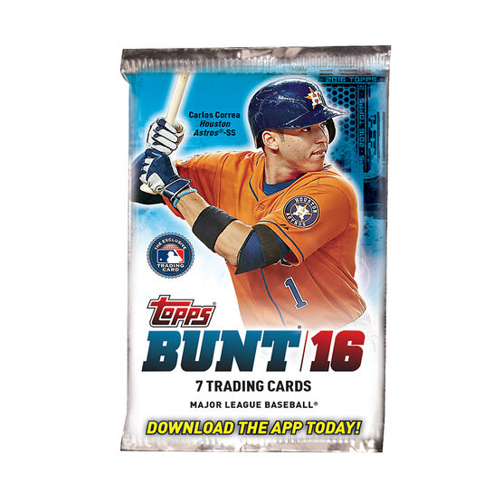 2016 Bunt Baseball Booster Cards