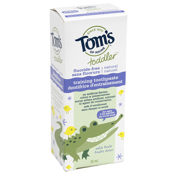 Tom's of Maine Toddler Training Toothpaste - 38ml
