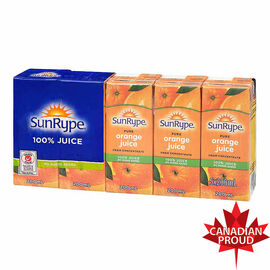Sun-Rype Pure Orange Juice - 5 x 200ml