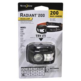 Nite Ize Radiant 200 Headlamp - 200 lumens