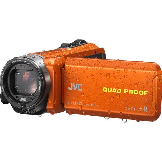 JVC GZ-R440DU Quad Proof Everio Full HD Camcorder - Orange - GZ-R440DU