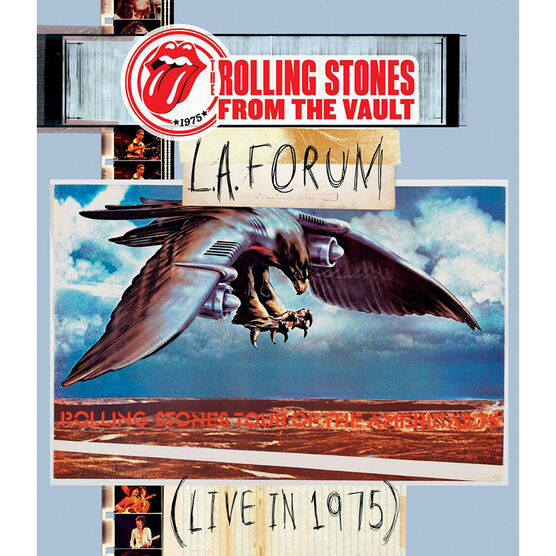 The Rolling Stones - L.A. Forum Live in 1975 - DVD