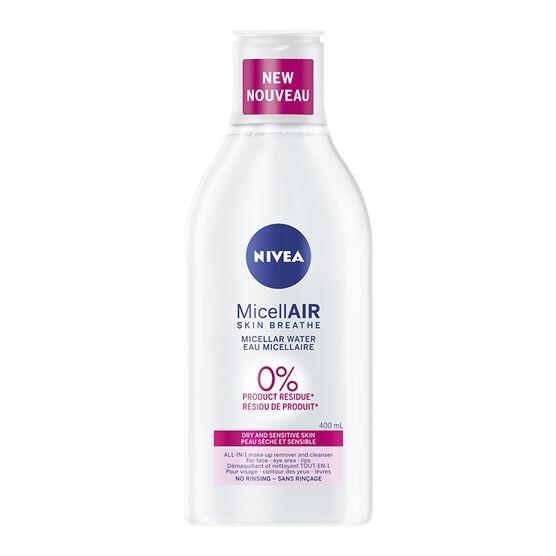 Nivea MicellAIR Micellar Water - Dry & Sensitive Skin - 400ml