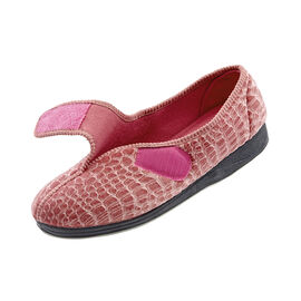 Silvert's Extra Wide Easy-On Slippers