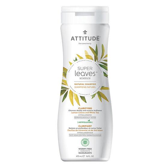 Attitude Super Leaves Science Natural Shampoo - Clarifying - 473ml