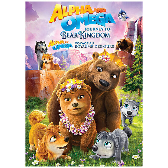 Alpha and Omega: Journey to Bear Kingdom - DVD