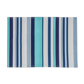Table Trends Cruise Placemat - Aqua - 13 x 18in