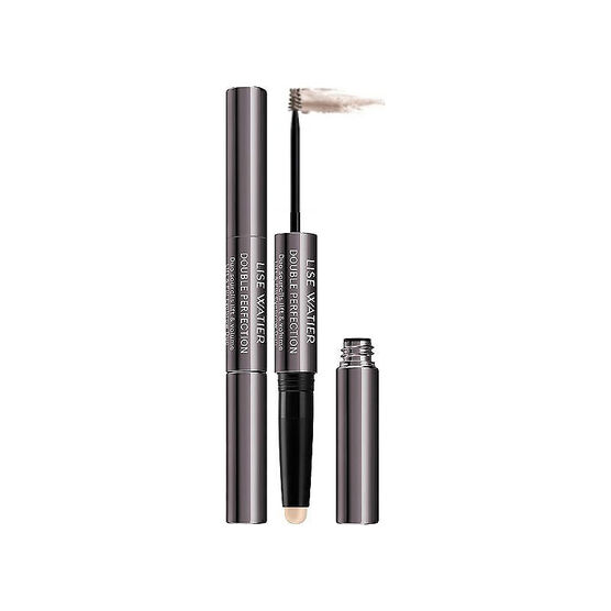 Lise Watier Double Perfection Lift & Fill Eyebrow Duo - Chatain