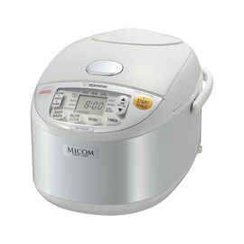 Zojirushi Rice Cooker - White - 5.5 cups - NS-YAC10