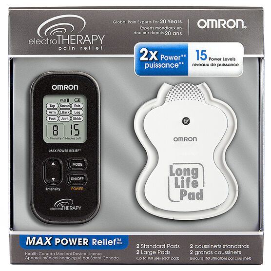 Omron ElectroTherapy Pain Relief Max Power - PM3032CAN