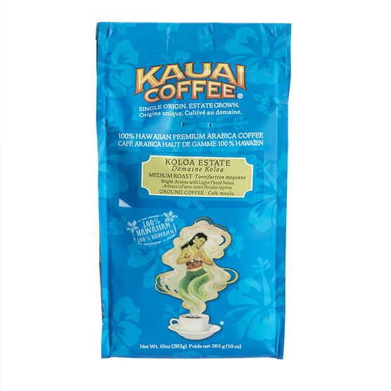 Kauai Koloa Estate Ground Coffee - Medium Roast - 283g
