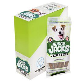 Buddy Jacks Veggie Branch for Medium Dog - Mint - 56g