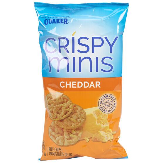Quaker Crispy Minis - Cheddar - 100g