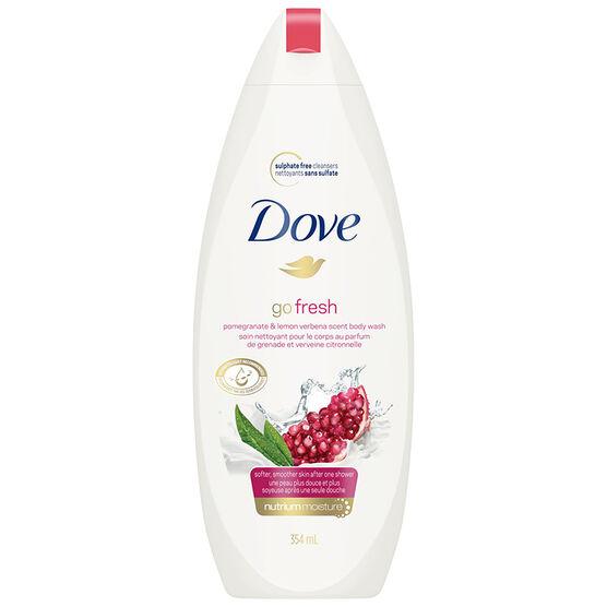 Dove Go Fresh Revive Pomegranate & Lemon Verbena Body Wash - 354ml