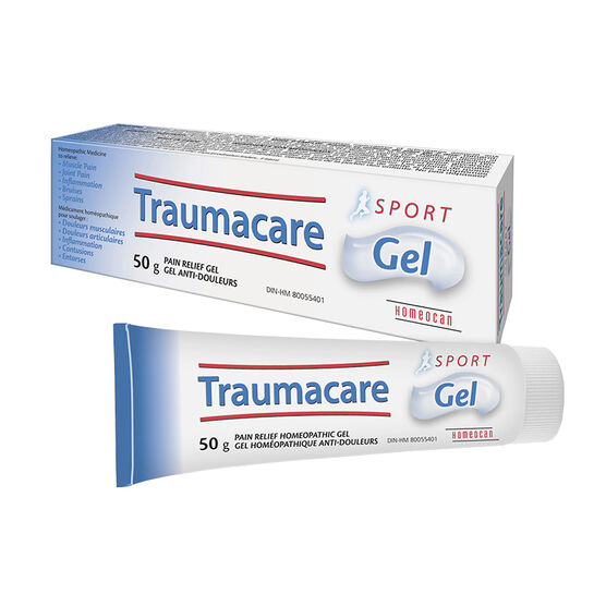 Homeocan Traumacare Pain Relief Homeopathic Gel - Sport - 50g