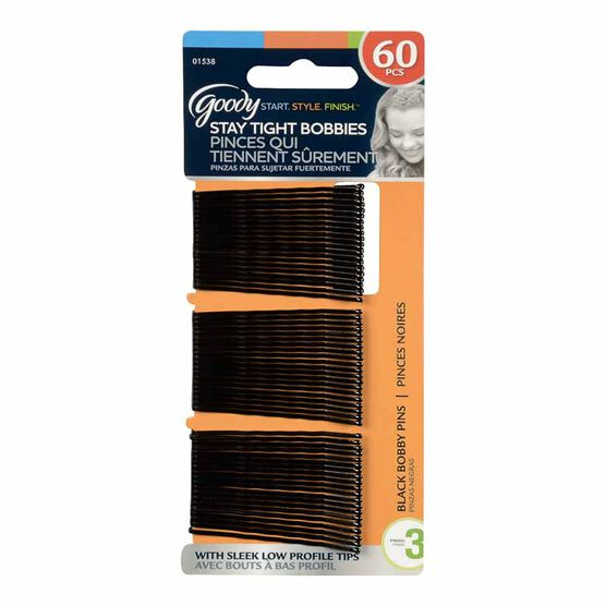Goody Bobby Pins - Black