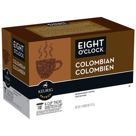 K-Cup 8 O'clock Coffee - Columbian - 12 Servings