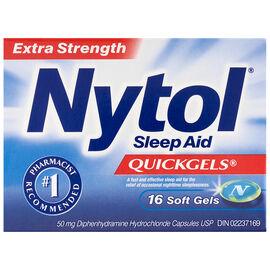 Nytol Extra Strength Sleep Aid Quick Gels - 16's
