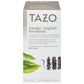 Tazo Black Tea - Awake English Breakfast - 24's