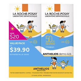 La Roche-Posay Anthelios Dermo-Kids SPF 50 Lotion - 2x150ml