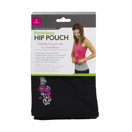 Pur Athletics Hip Pouch - Black - Small