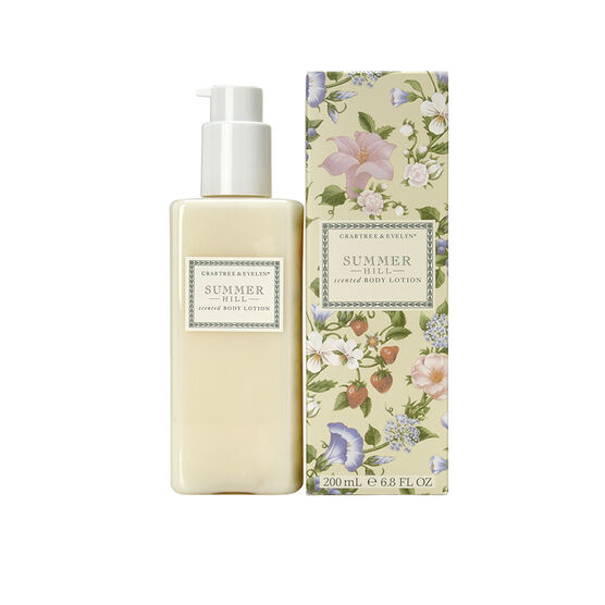 Crabtree & Evelyn Summer Hill Scented Body Lotion - 200ml