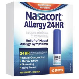 Nasacort Allergy 24HR Nasal Spray - 60 Doses
