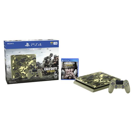 Sony PlayStation PS4 1TB Hardware Bundle - Call of Duty WW2 Limited Edition - CUH2115B