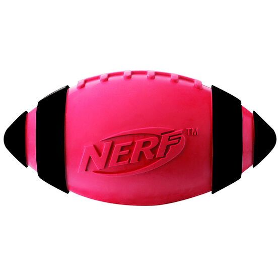 Nerf Dog Squeaker Football - Red - VP6700