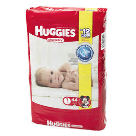 Huggies Snug & Dry Disposable Diaper - Size 1 - 44's