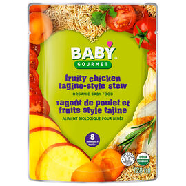 Baby Gourmet Baby Food Step 3 - Fruity Chicken and Brown Rice - 128ml