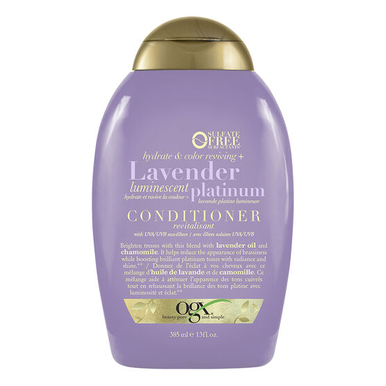 OGX Hydrate & Color Reviving Lavender Platinum Conditioner - 385ml