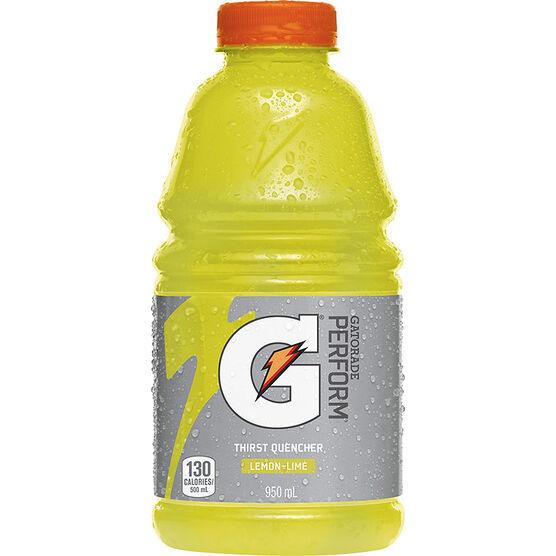 Gatorade Lemon Lime - 950ml
