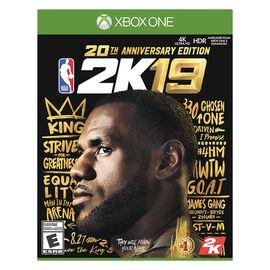 Xbox One NBA 2K19 20th Anniversary Edition