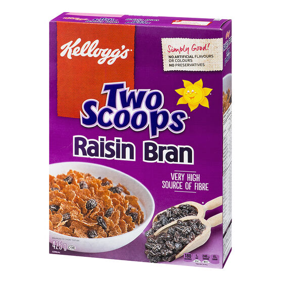 Kelloggs Raisin Bran Cereal - 425g