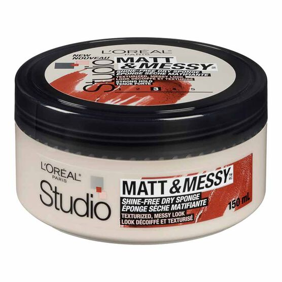 L'Oreal Studio Line Matt & Messy Shine-Free Dry Sponge - 150ml