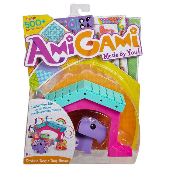 AmiGami Scottie Dog and Doghouse