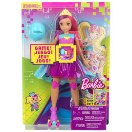 Barbie Videogame Hero Memory Game Doll - DTW00