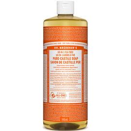 Dr. Bronner's 18-IN-1 Pure-Castile Liquid Soap - Tea Tree - 944ml