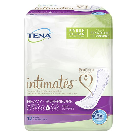 Tena Pads - Heavy Long - 12's