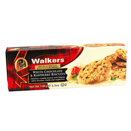 Walker's Biscuits - Raspberry & White Chocolate - 150g