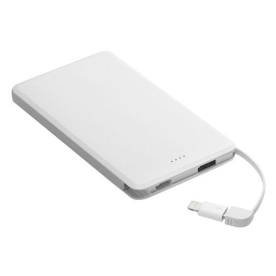 Spigen 5000mAh Portable Battery - White - SGP000BP20720
